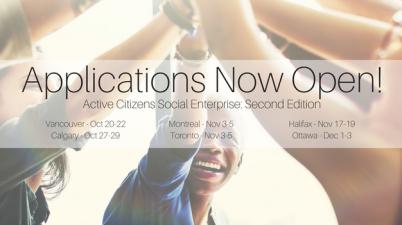 Second Edition of Active Citizens Social Enterprise British Council Canada United Nations Association