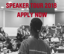 Restless Development Youth Stop AIDS Speaker Tour 2018