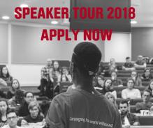 Restless Development Youth Stop AIDS Speaker Tour 2018
