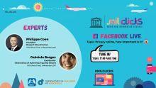 UNESCO MILCLICKS Facebook Live