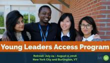 MCW Young Leaders Access Program 2018