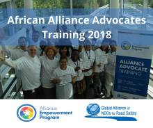 Alliance Advocates Training 2018