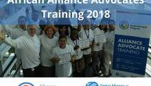 Alliance Advocates Training 2018