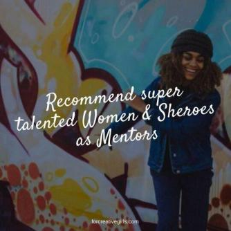 For Creative Girls Mentors