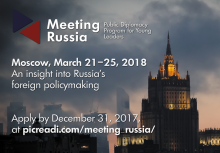 Meeting Russia Public Diplomacy For Young Leaders
