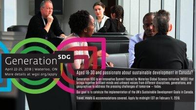 Generation SDG Summit Canada