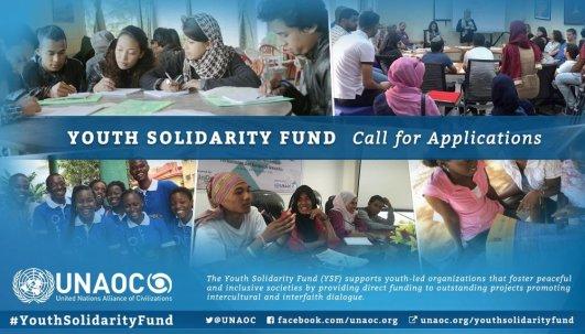 Youth Solidarity Fund UNAOC Application