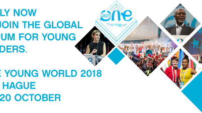 All Bar None Scholarship to Attend 2018 One Young World Summit