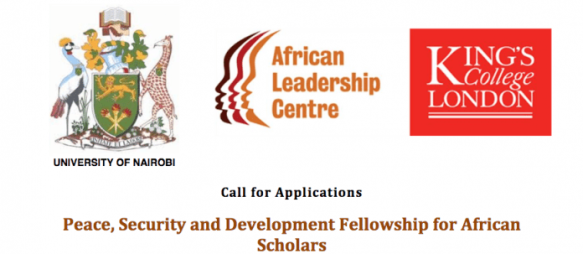 2018/2019 ALC Peace, Security and Development Fellowship for