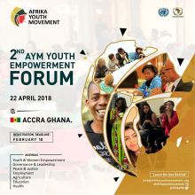 2nd Afrika Youth Movement Retreat and Youth Empowerment Forum 2018, Accra - GHANA