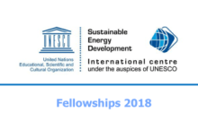 UNESCO/ISEDC Co-Sponsored Fellowships Programme 2018 (Fully Funded)