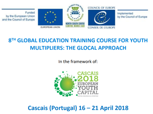 Council Of Europe North-South Centre 8th Global Education Training Course for Youth Multipliers