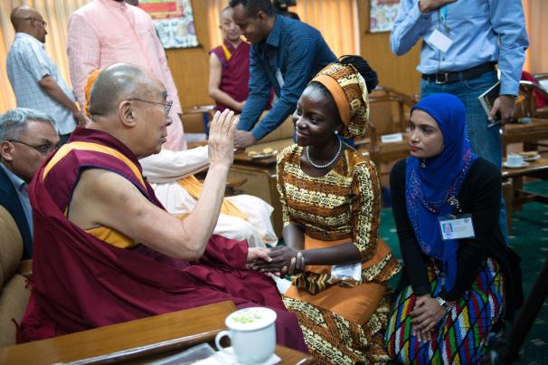 USIP Youth Leaders' Exchange with His Holiness the Dalai Lama