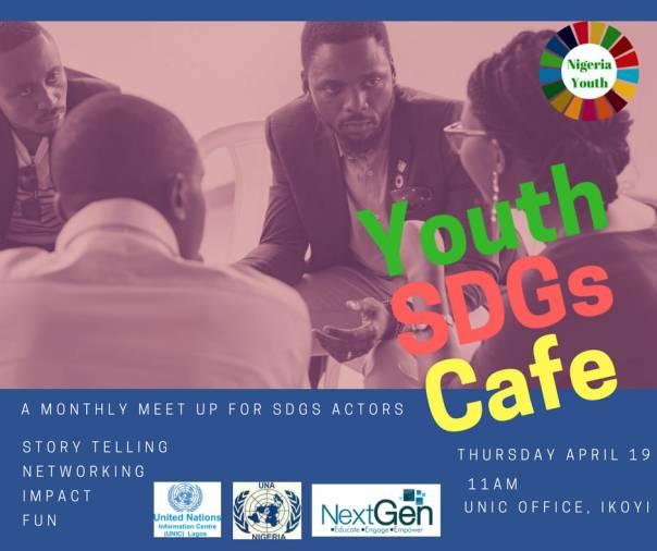 Youth SDGs Cafe April