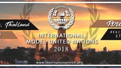 2018 International Model United Nations, Thailand