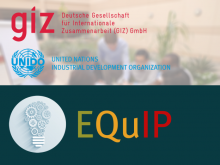 GIZ and UNIDO EQuIP Training of Trainers
