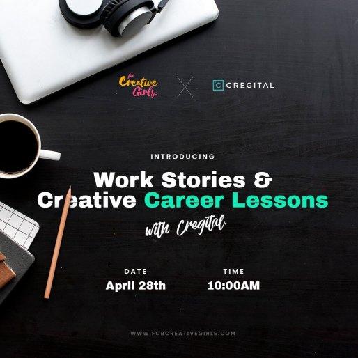 For Creative Girls Creative Career Class With Cregital