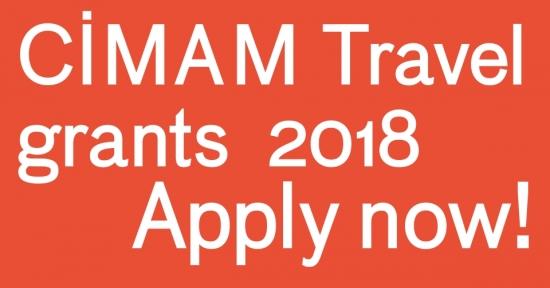 2018 CIMAM Travel Grant Applications