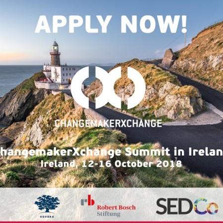2018 Ashoka ChangemakerXchange Ireland
