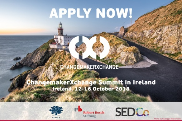 2018 Ashoka ChangemakerXchange Ireland