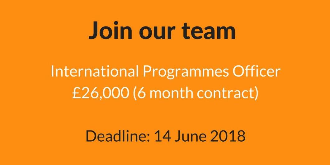 Job: Peace Direct International Programmes Officer