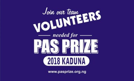 2018 Pas Prize Call For Volunteers