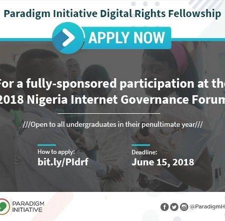 Paradigm InitiativeNigeria Internet Governance Forum Scholarship