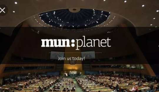 Model United Nations (MUN) Planet