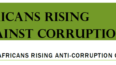 Africans Rising Anti-Corruption Contest