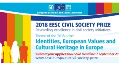 2018 European Union Economic and Social Committee Civil Society Prize