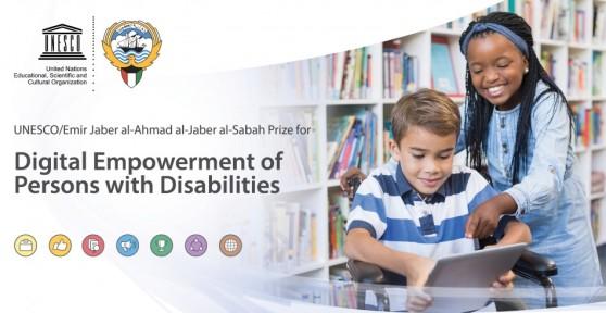 UNESCO/Emir Jaber Al Ahmad Al Jaber Al Sabah Prize for Digital Empowerment of Persons with Disabilities