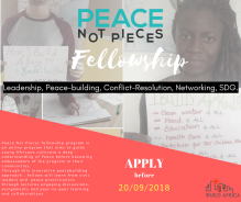 Peace Not Pieces Fellowship