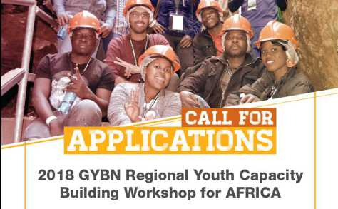 2018 GYBN Regional Youth Capacity Building Workshop for Africa