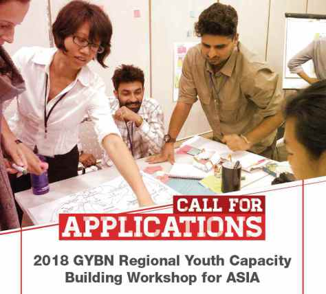 GYBN Regional Youth Capacity Building Workshop for Asia