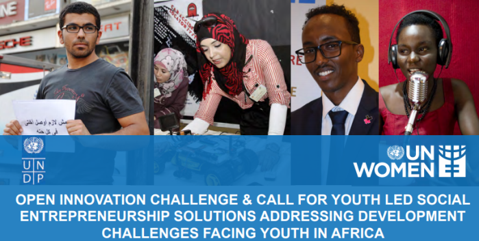 United Nations Women and UNDP Africa Youth Conference and Call For Youth-Led Social Entrepreneurship Solutions