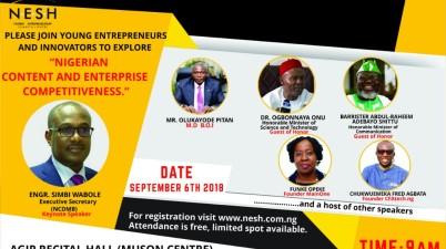 Third Nigeria and Entrepreneurship: Summit & Honors (NESH)