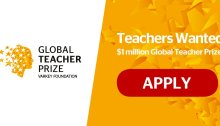 Global Teacher Prize ($1million Award)