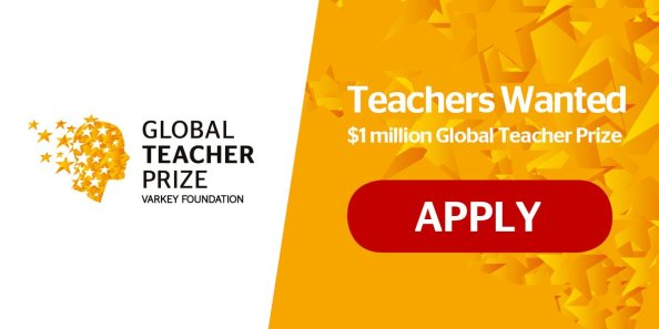 Global Teacher Prize ($1million Award)