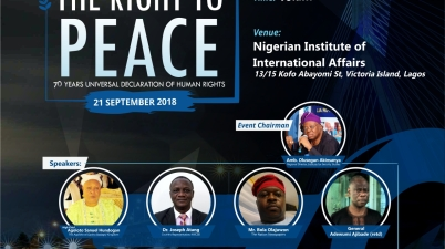 United Nations Association of Nigeria International Peace Day 2018