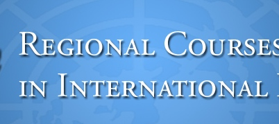 United Nations Regional Course in International Law