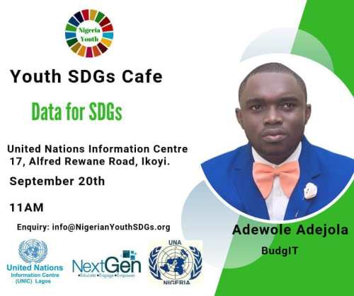 Nigerian Youth SDGs Cafe (August)