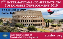7th International Conference on Sustainable Development 2019 Rome, Italy