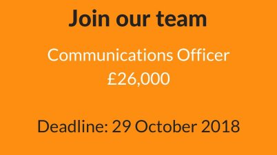 Communications Officer at Peace Direct