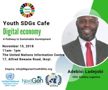Nigerian Youth SDGs Youth Cafe (November)