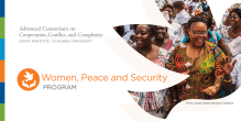 Peace and Social Change Fellowship Women Peace Security Program