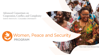 Peace and Social Change Fellowship Women Peace Security Program