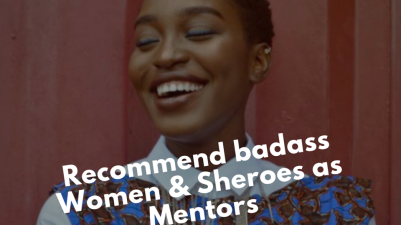 For Creative Girls Call For Sheroes As Mentors
