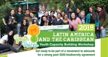 2019 GYBN Regional Youth Capacity Building Workshop for Latin America and the Caribbean