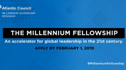 Atlantic Council Millennium Fellowship For Global Leaders 2019