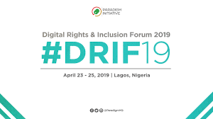 Digital Rights and Inclusion Forum 2019 (DRIF19)